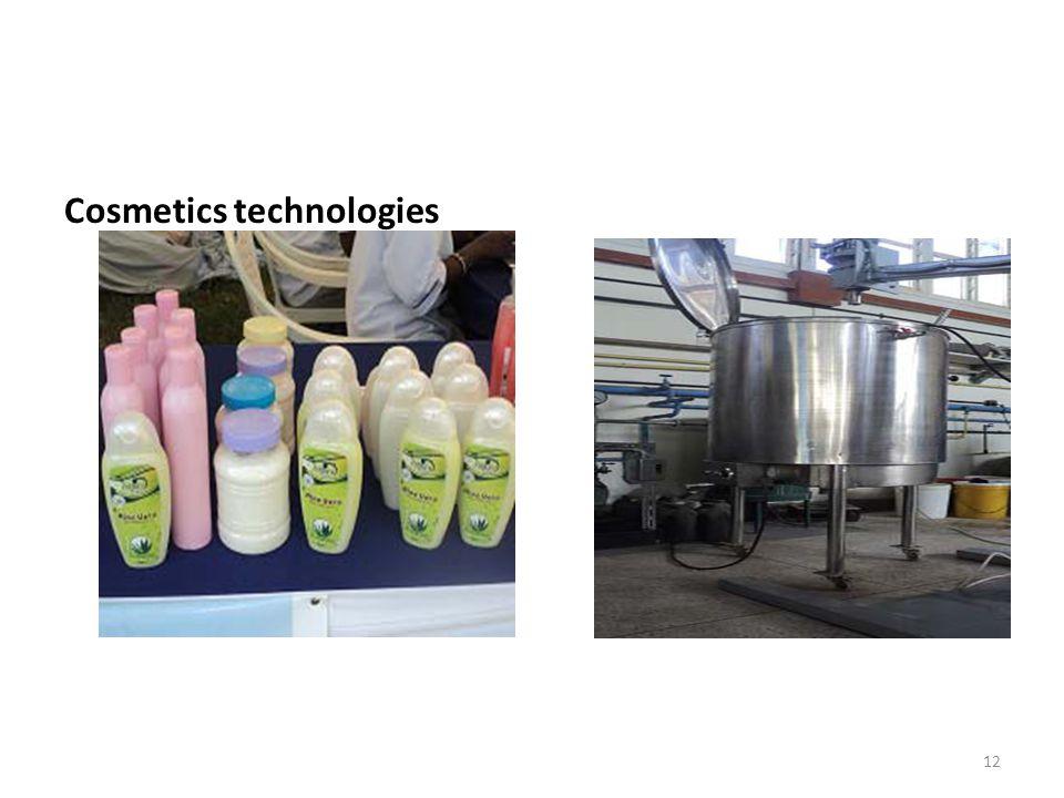 Cosmetics technologies