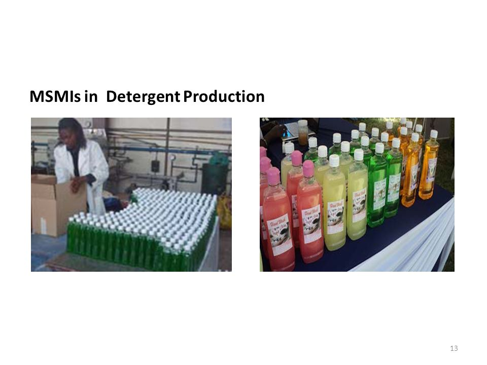 MSMIs in Detergent Production