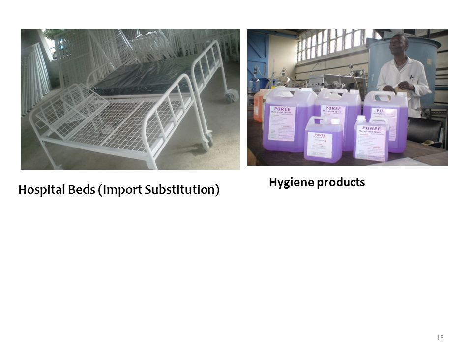 Hygiene products Hospital Beds (Import Substitution)
