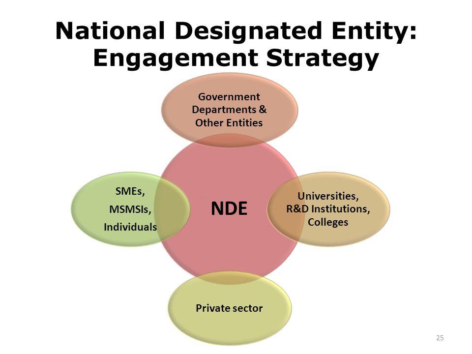 National Designated Entity: Engagement Strategy