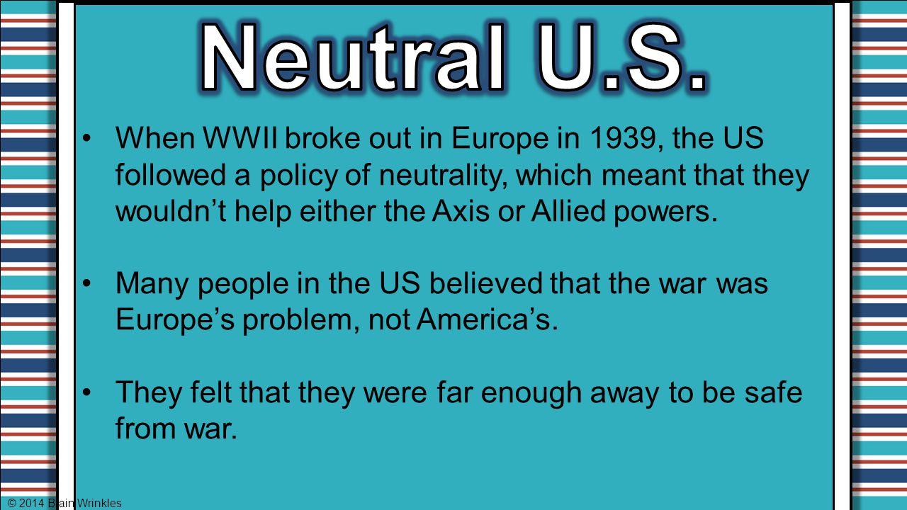 Neutral U.S.