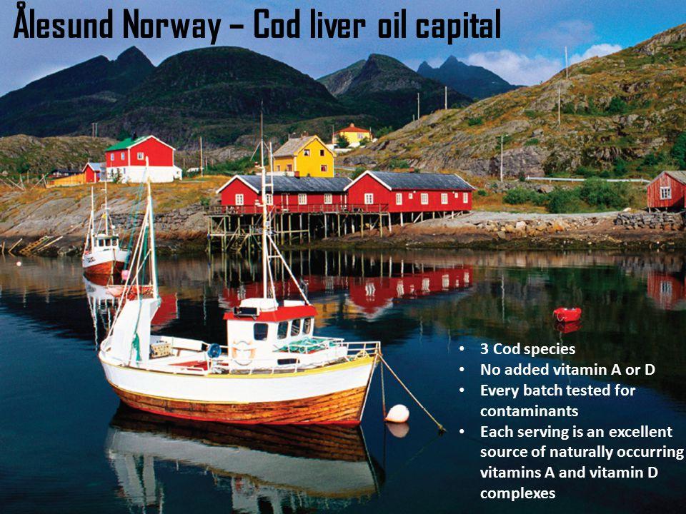 Ålesund Norway – Cod liver oil capital