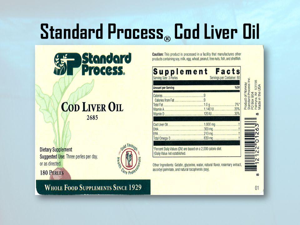 Standard Process Cod Liver Oil