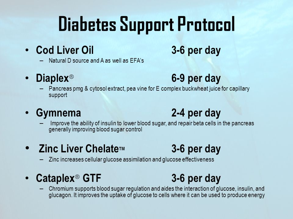 Diabetes Support Protocol