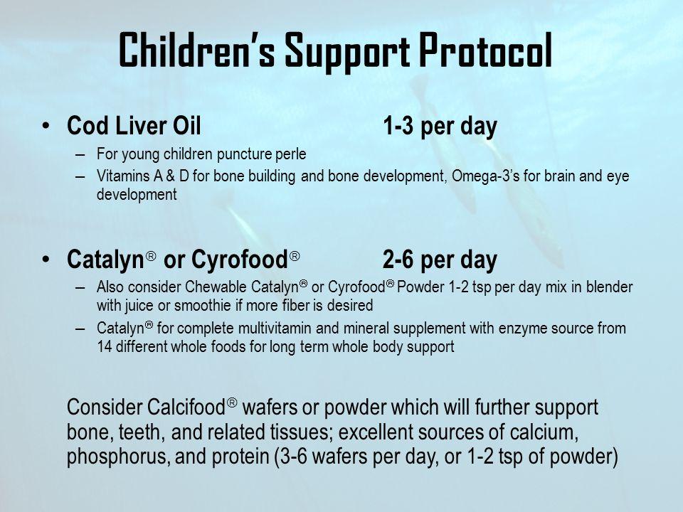 Children's Support Protocol