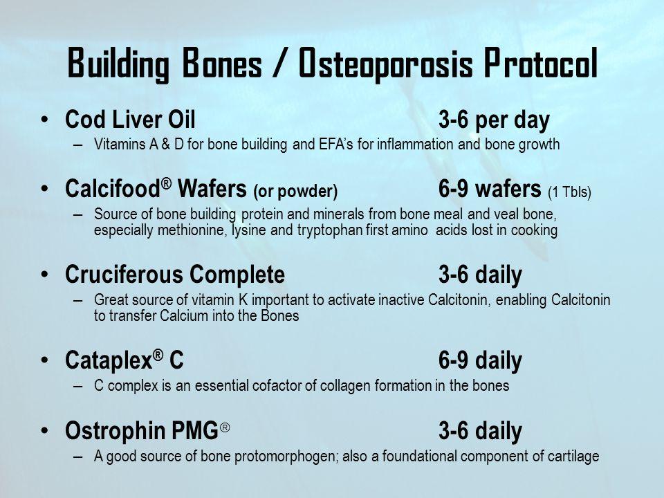 Building Bones / Osteoporosis Protocol