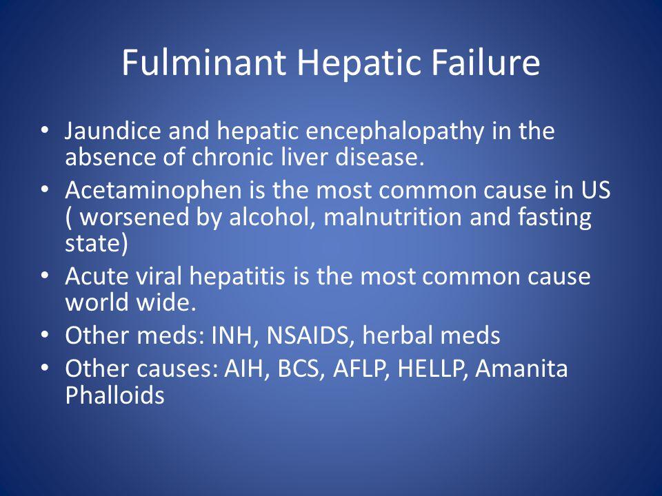 Fulminant Hepatic Failure