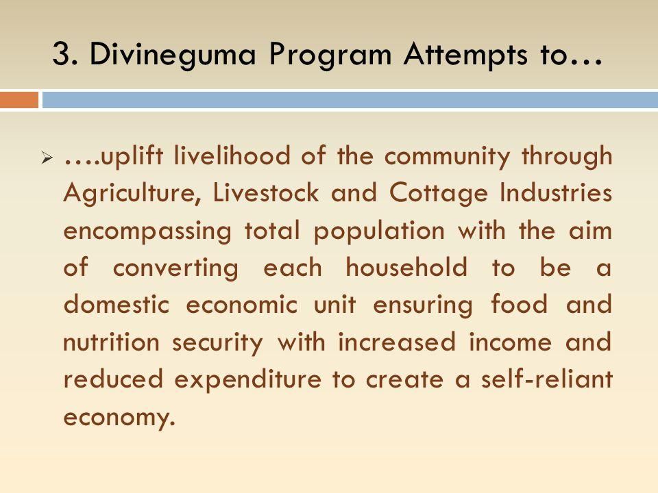 3. Divineguma Program Attempts to…
