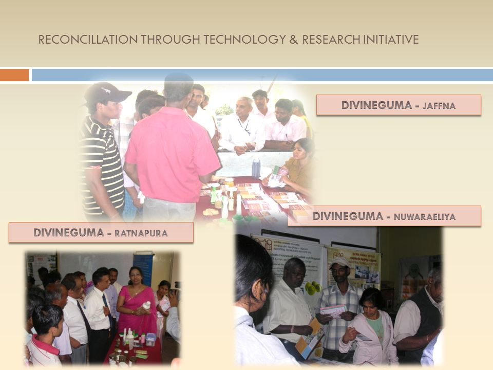 RECONCILLATION THROUGH TECHNOLOGY & RESEARCH INITIATIVE