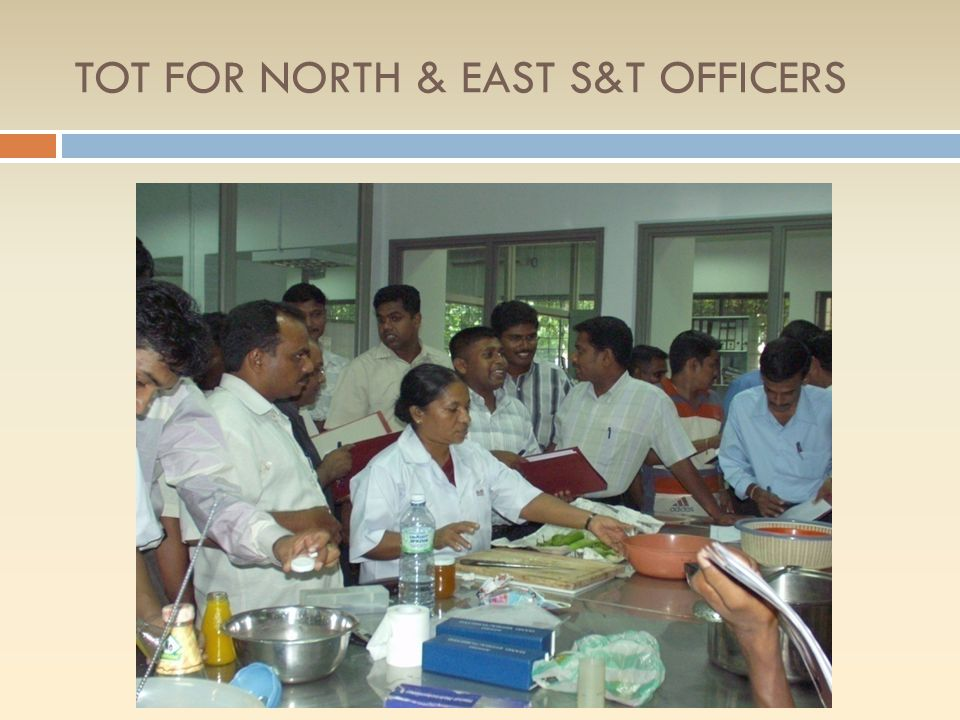 TOT FOR NORTH & EAST S&T OFFICERS