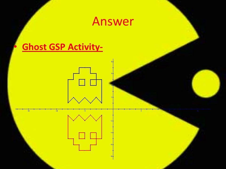 Answer Ghost GSP Activity-