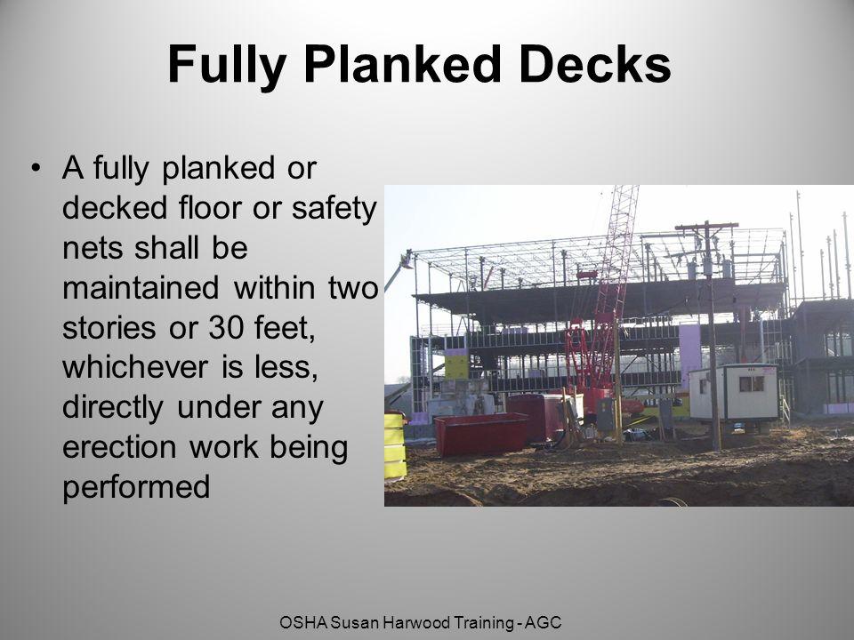 Fully Planked Decks