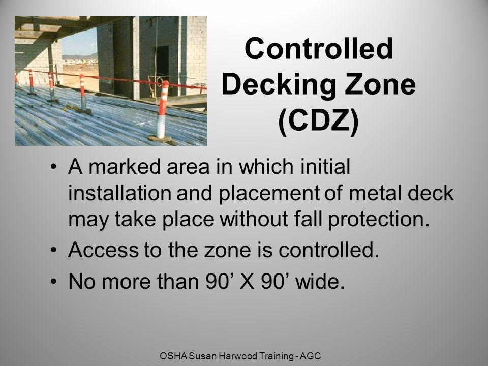 Controlled Decking Zone (CDZ)