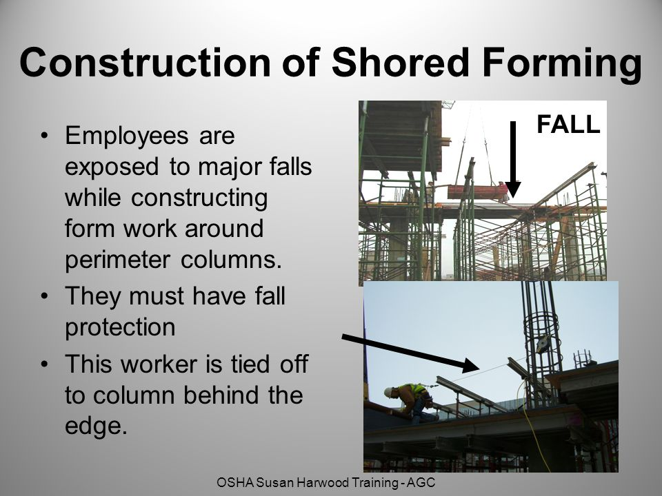 Construction of Shored Forming