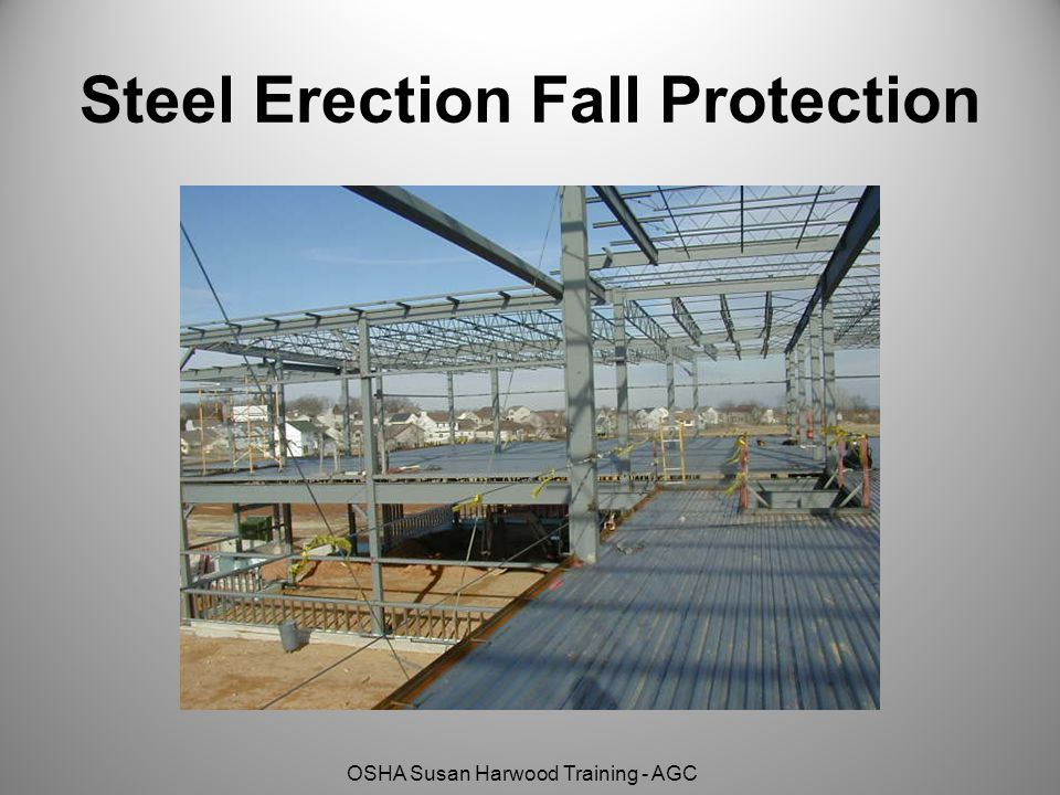 Steel Erection Fall Protection
