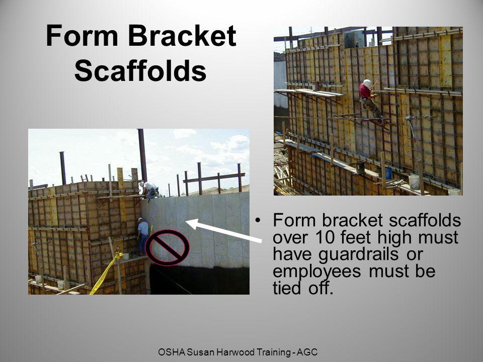 Form Bracket Scaffolds