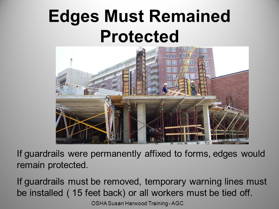 Edges Must Remained Protected