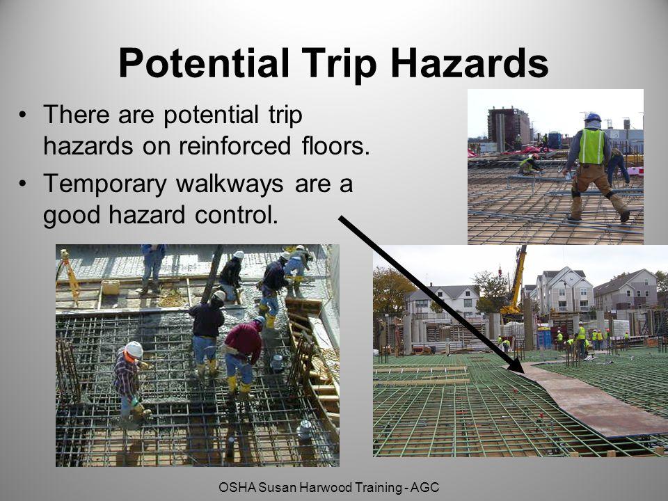 Potential Trip Hazards