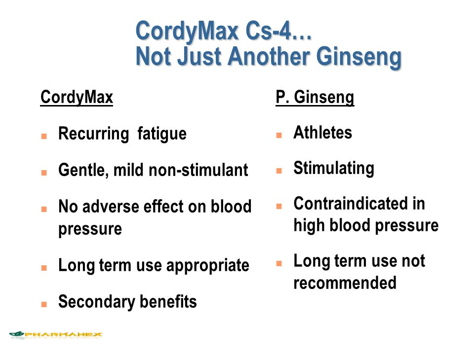 CordyMax Cs-4… Not Just Another Ginseng