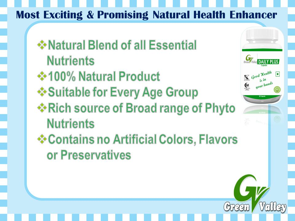 Most Exciting & Promising Natural Health Enhancer