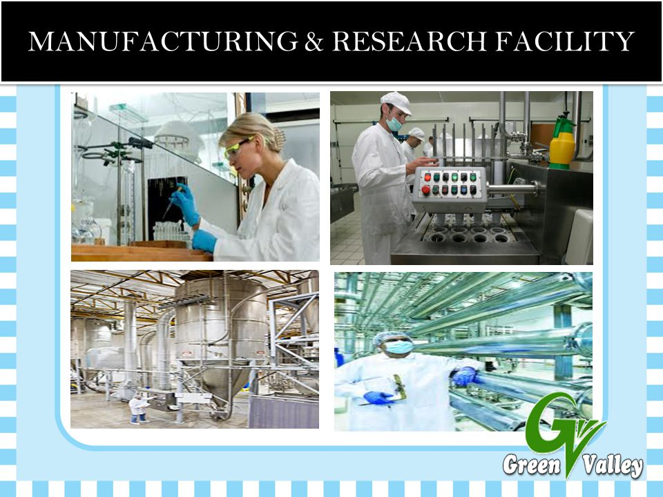 MANUFACTURING & RESEARCH FACILITY