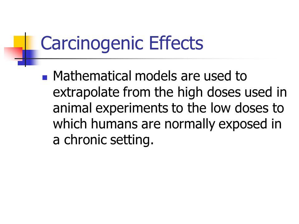 Carcinogenic Effects