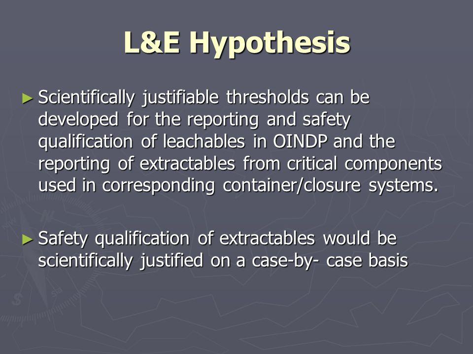 L&E Hypothesis