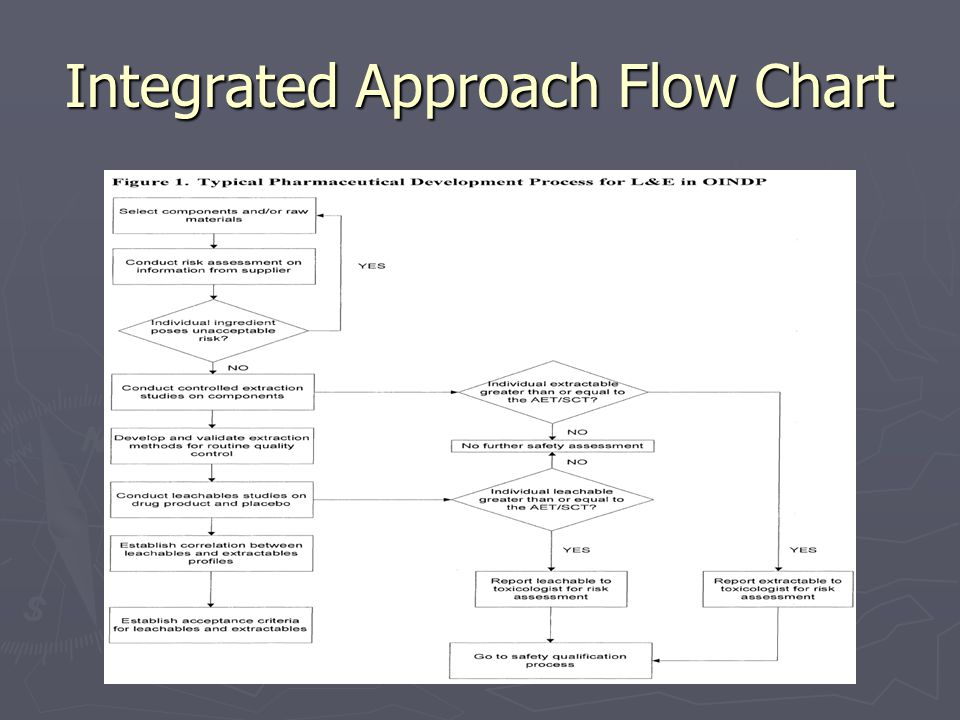 Integrated Approach Flow Chart