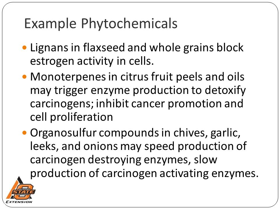 Example Phytochemicals