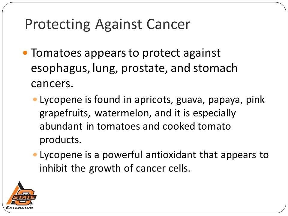 Protecting Against Cancer