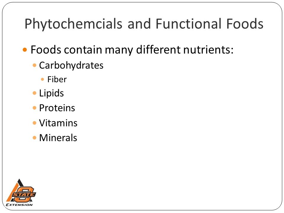 Phytochemcials and Functional Foods