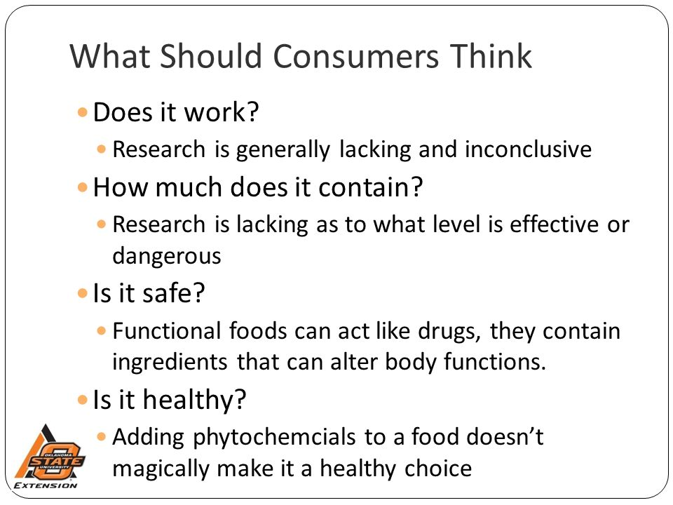What Should Consumers Think