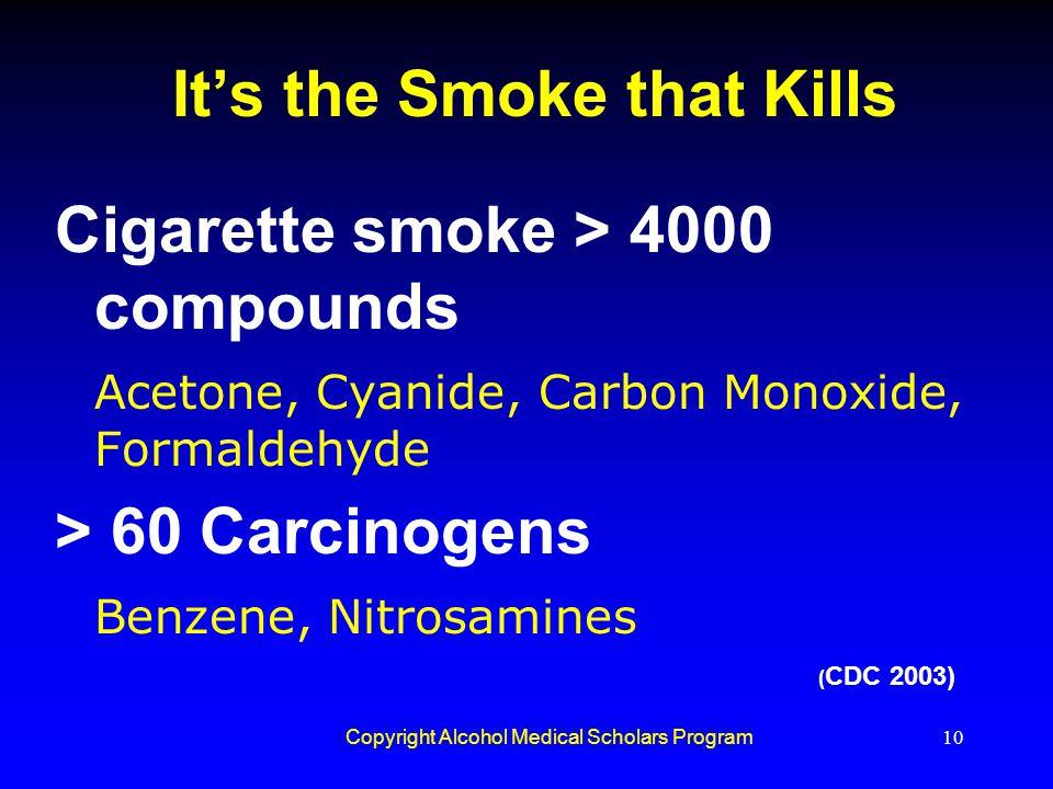 It's the Smoke that Kills