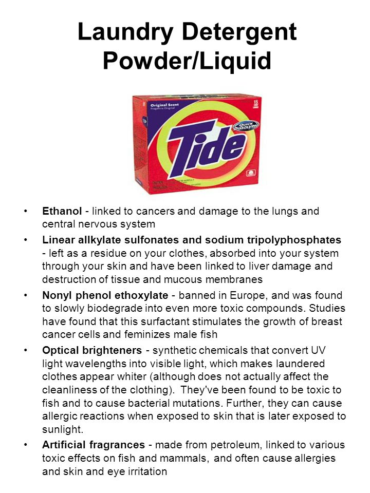 Laundry Detergent Powder/Liquid