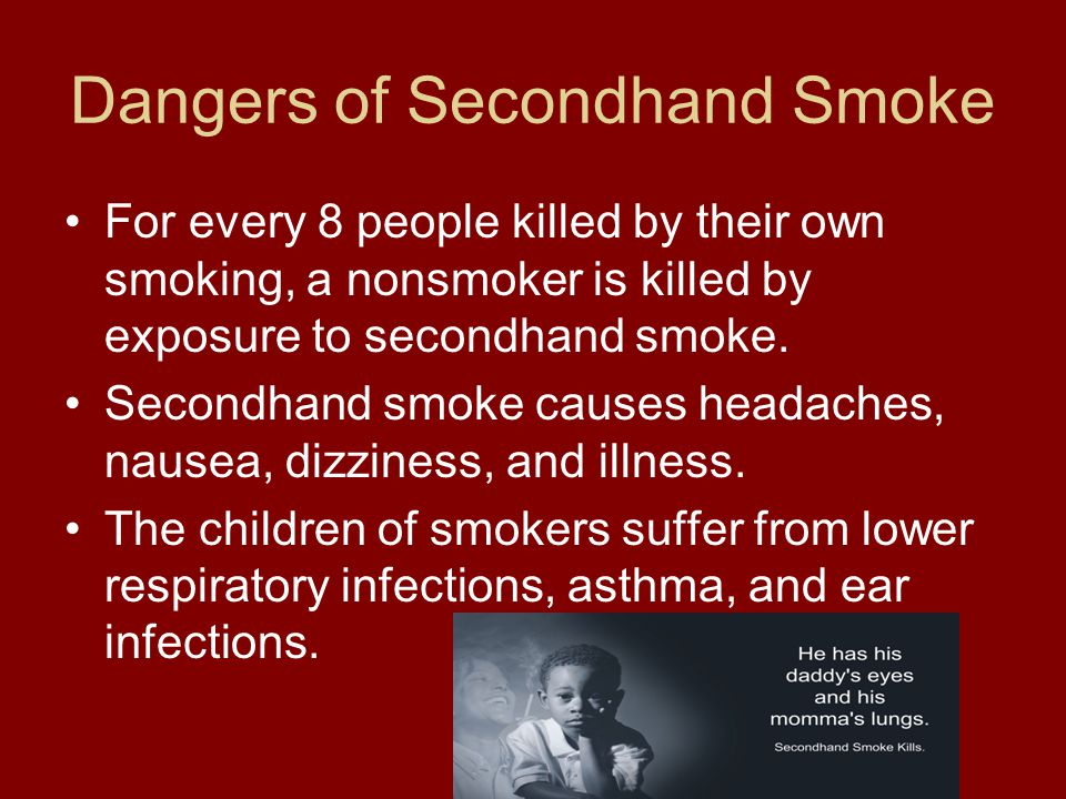 Dangers of Secondhand Smoke