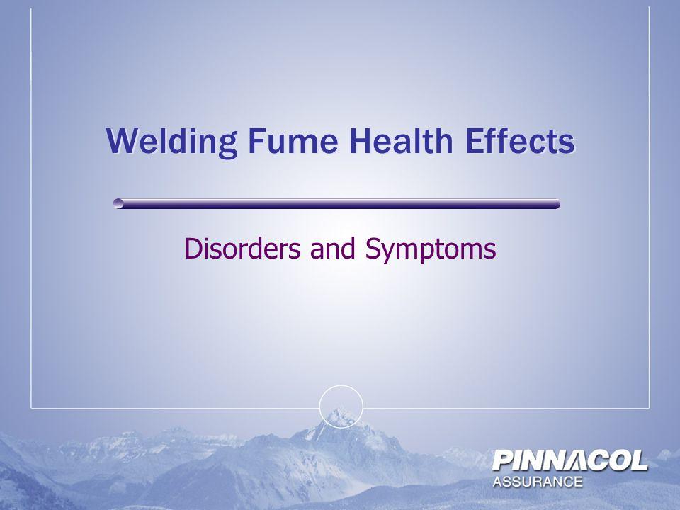 Welding Fume Health Effects