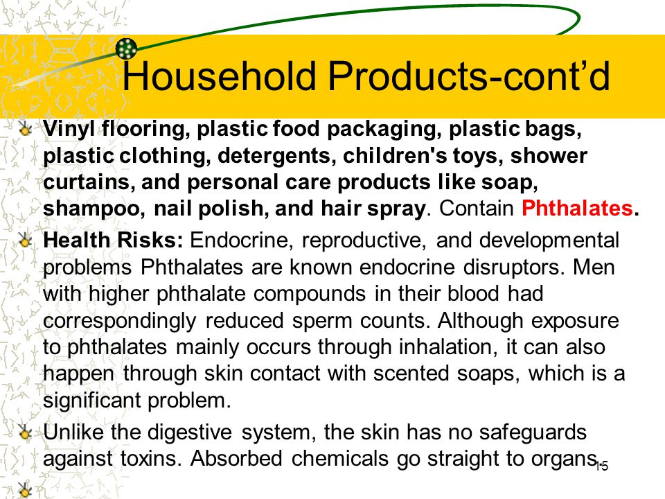 Household Products-cont'd