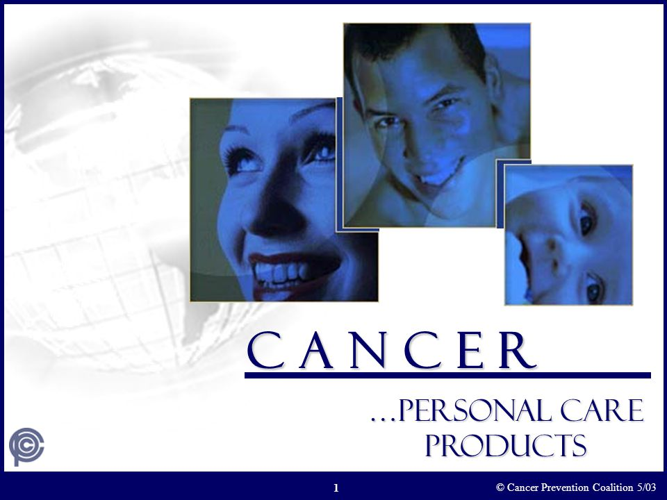 …Personal care products