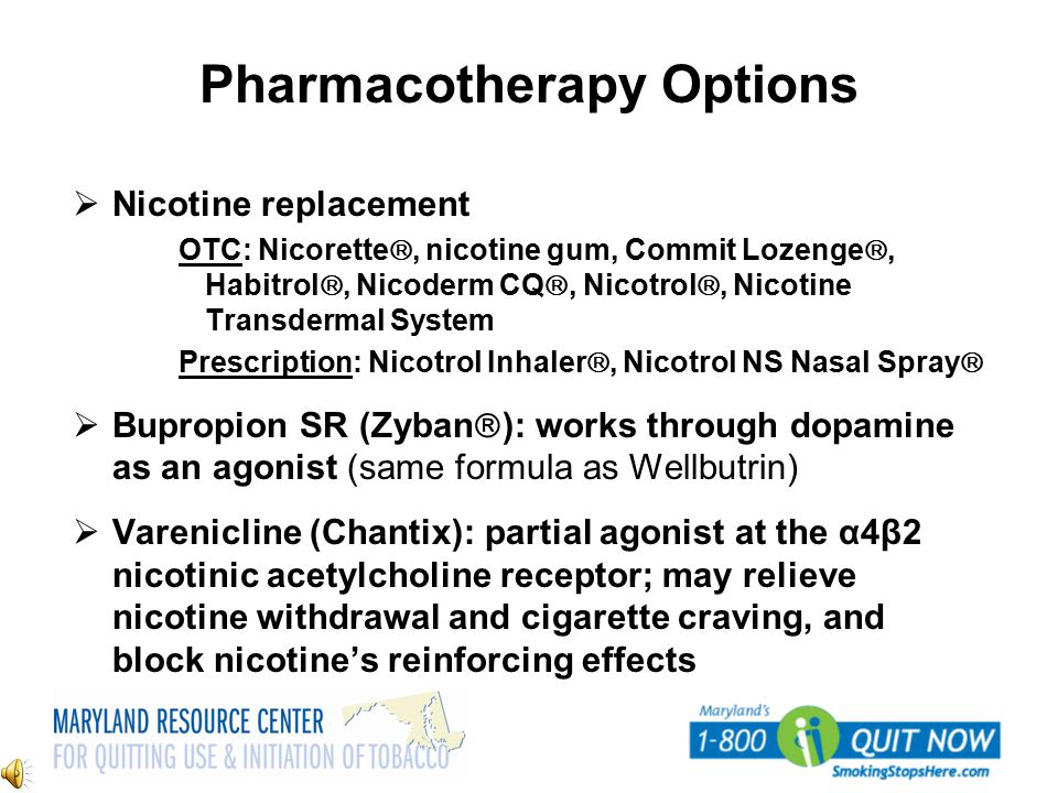Pharmacotherapy Options
