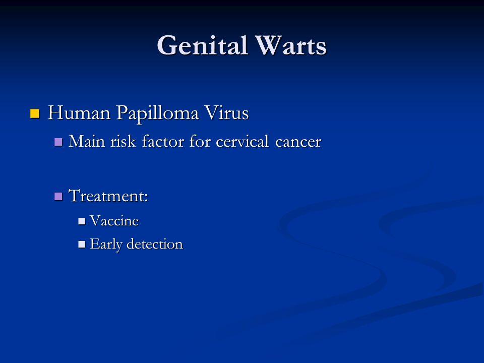 Genital Warts Human Papilloma Virus