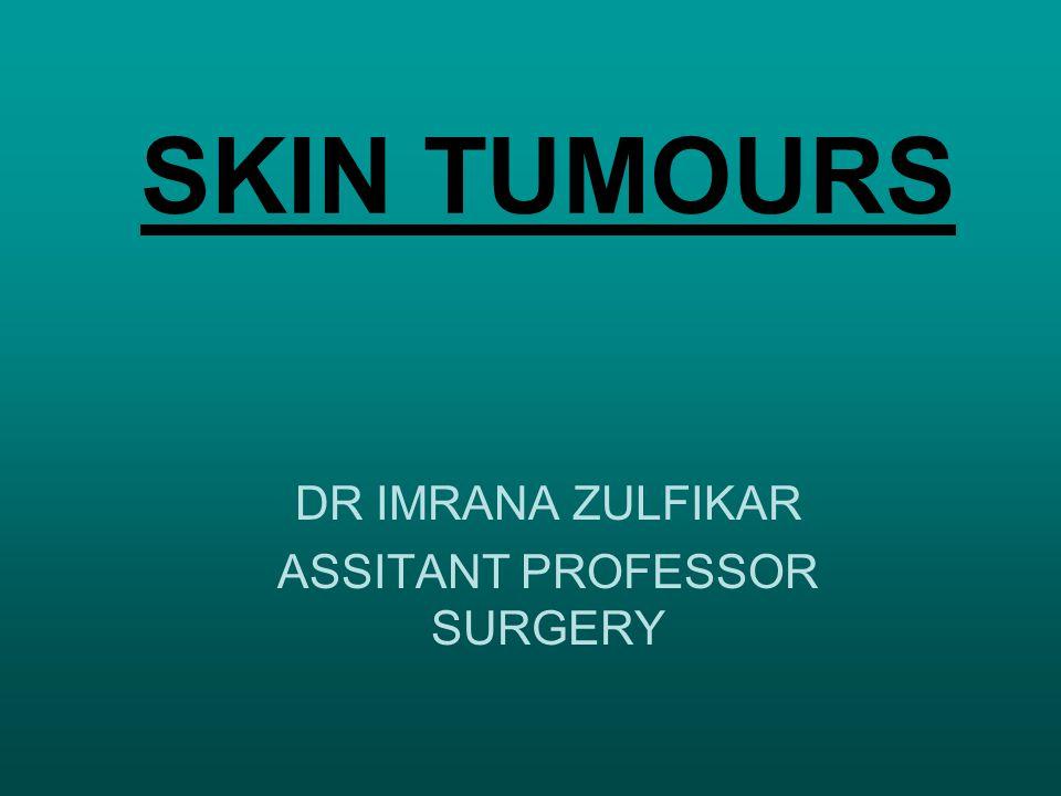 DR IMRANA ZULFIKAR ASSITANT PROFESSOR SURGERY