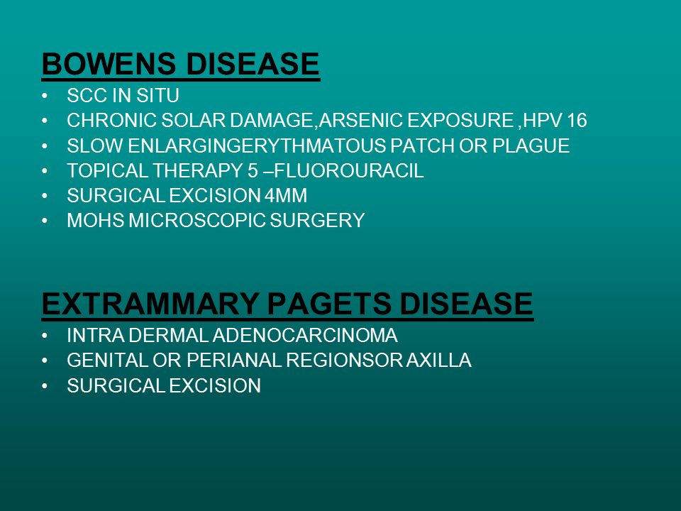 EXTRAMMARY PAGETS DISEASE