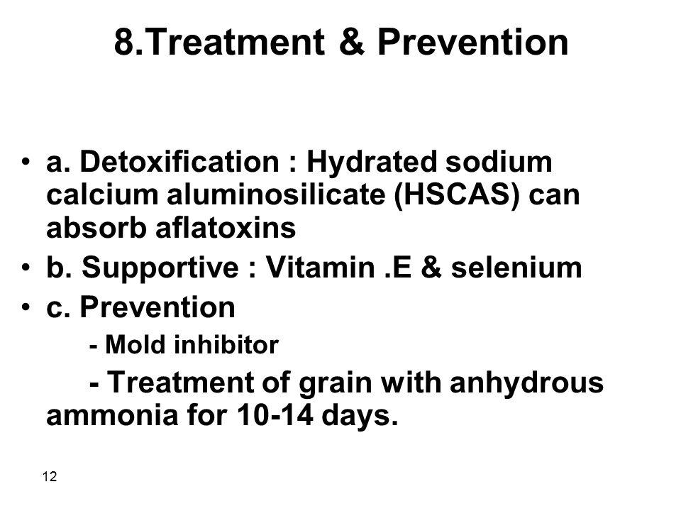 8.Treatment & Prevention