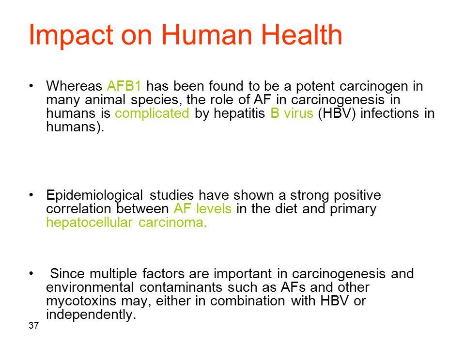 Impact on Human Health