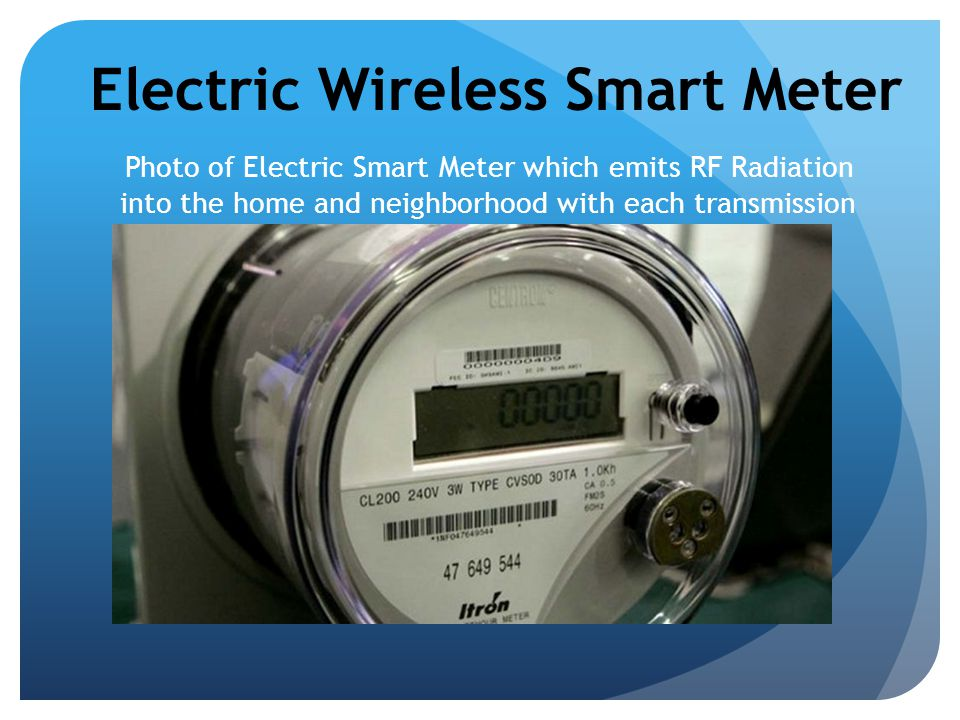 Electric Wireless Smart Meter