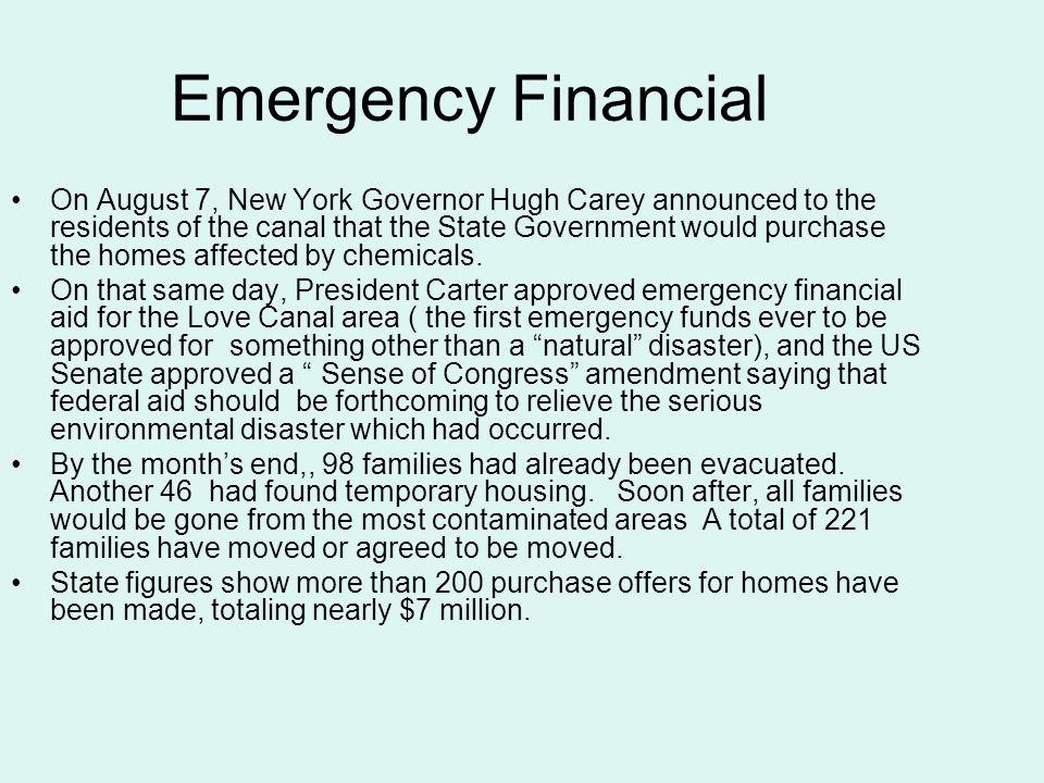 Emergency Financial