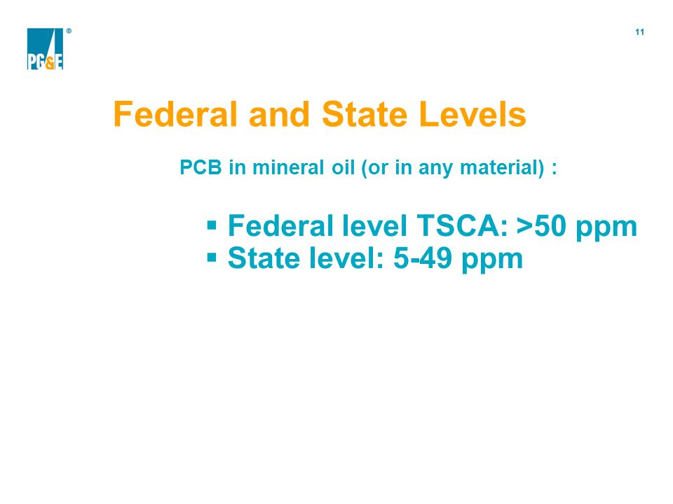 Federal and State Levels