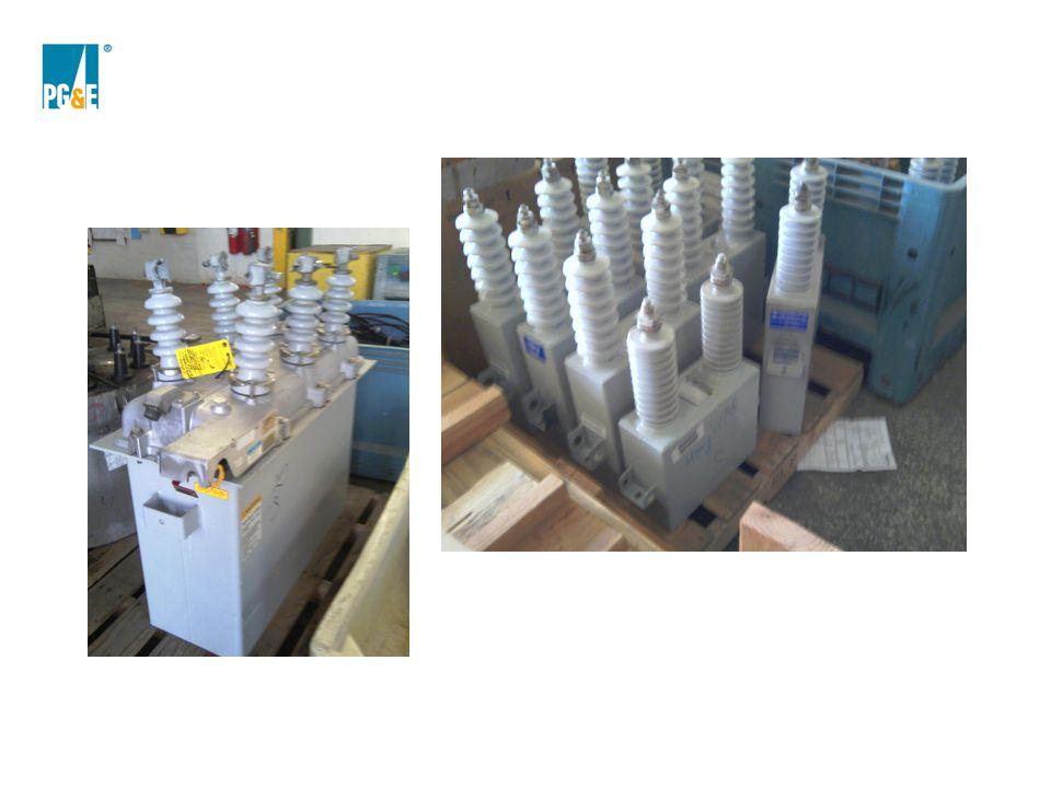 recloser and capacitors