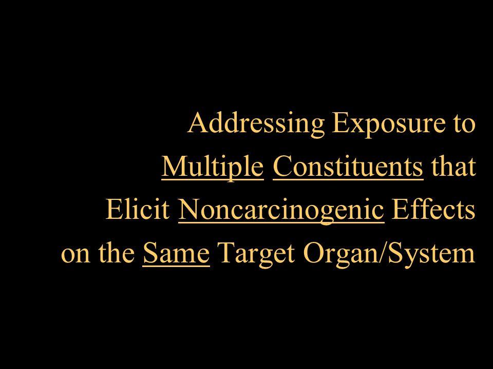 Addressing Exposure to