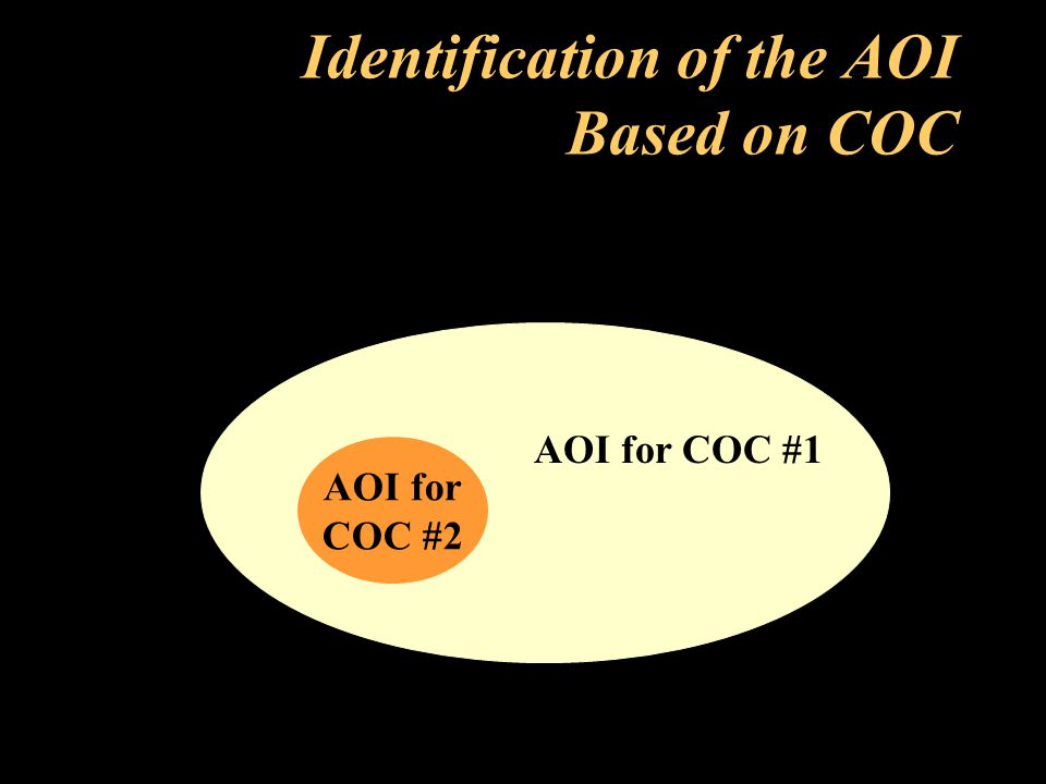 Identification of the AOI Based on COC